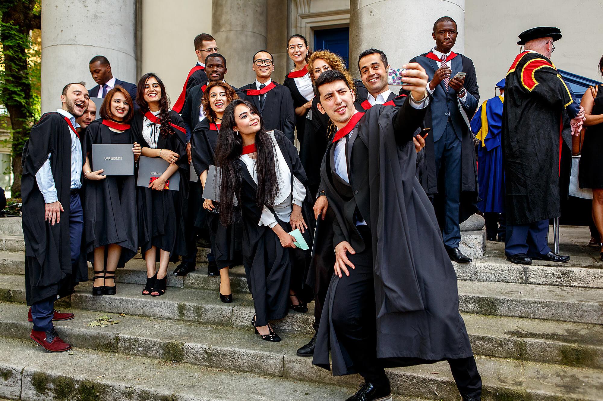 5c685c28e7e Students Graduating at London Campus