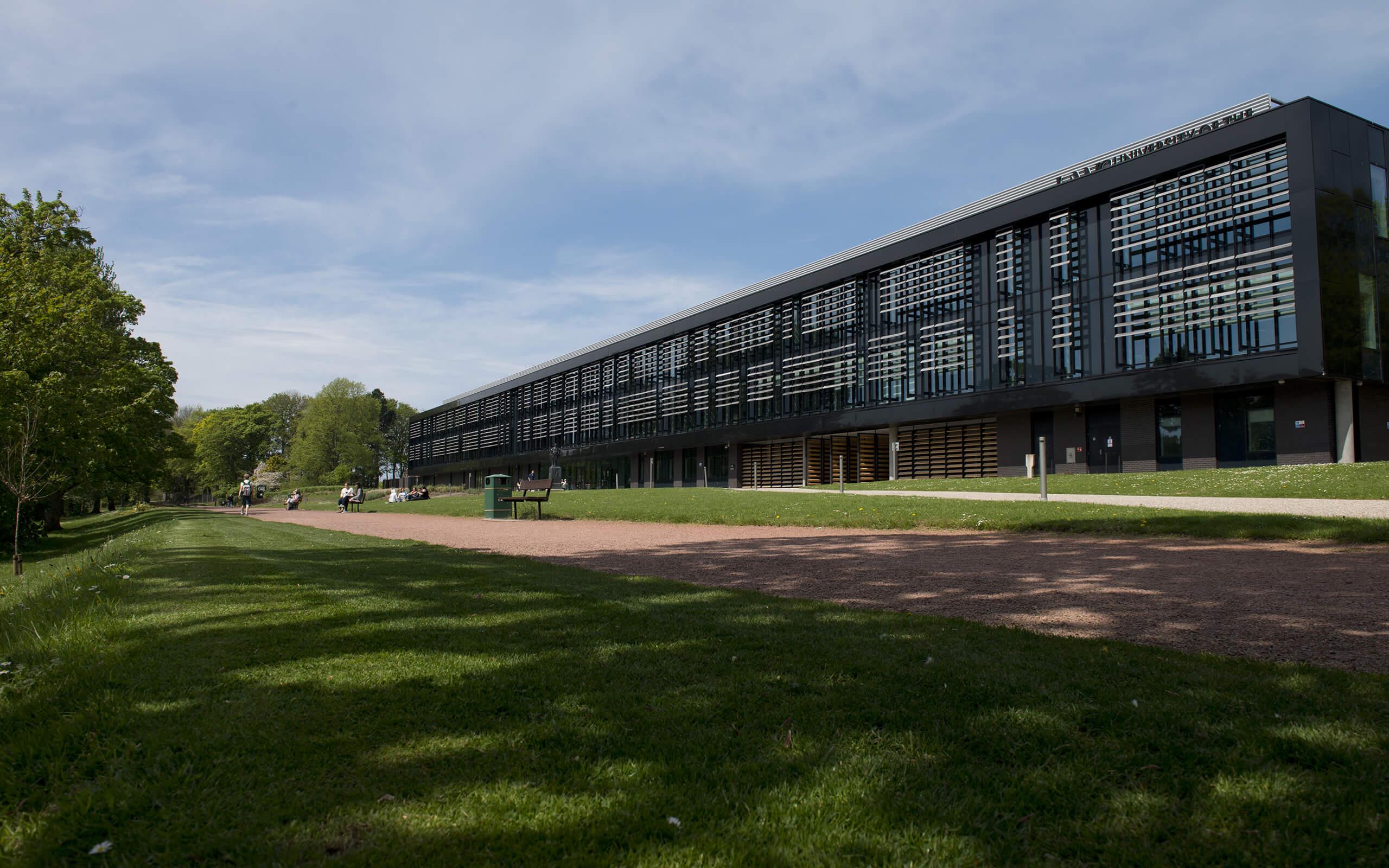 Glasgow university sports building main campus